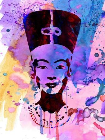 Nefertiti Watercolor
