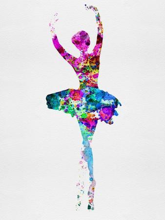 Ballerina Watercolor 1