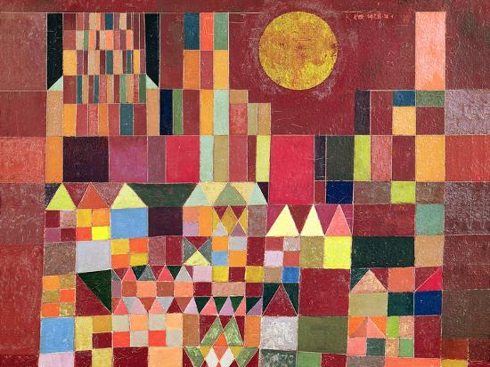 Castle And Sun Giclee Print By Paul Klee At Allposters Com