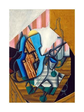 Still Life with Violin and Music Sheet, 1914
