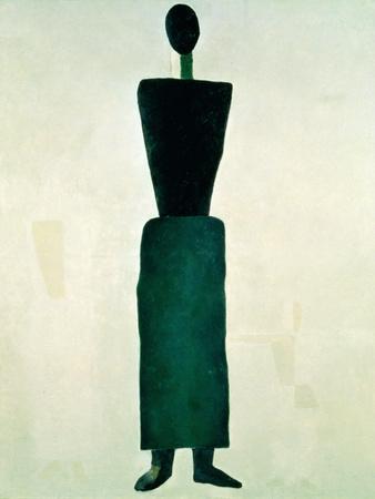 Suprematist Female Figure, 1928-32