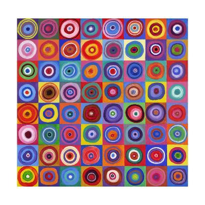In Square Circle 64 after Kandinsky, 2012