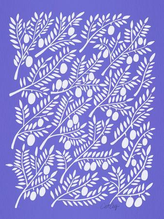 Periwinkle Olive Branches