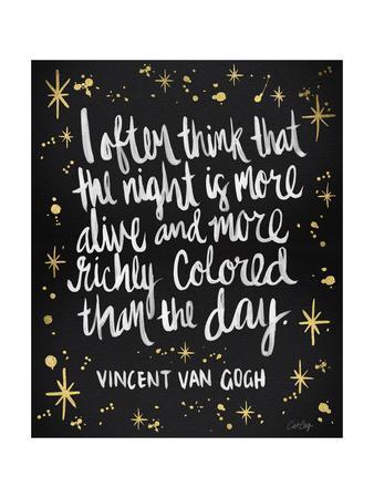 Van Gogh Black