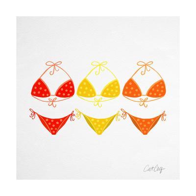 3 Bikini Orange