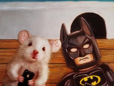 Selfie with Batman