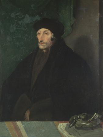 Portrait of Erasmus of Rotterdam, c.1530