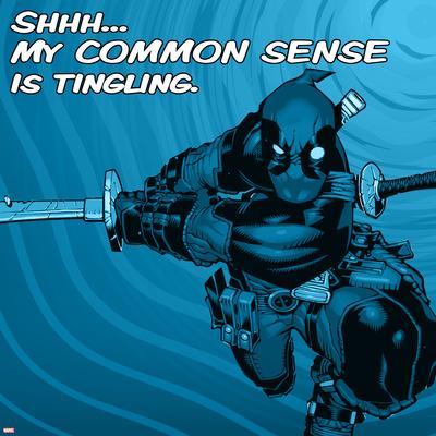 Deadpool - Common Sense Square