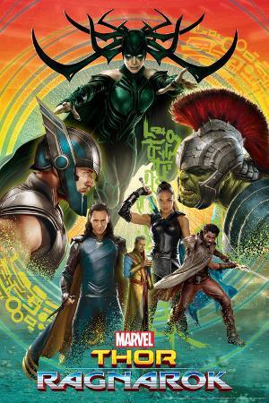 Thor Ragnarok Thor Hulk Valkyrie Loki Hela