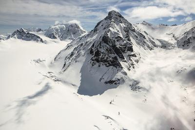 The Alaska Range in Denali National Park