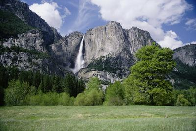 Distant View of Yosemite Falls