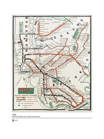 MTA Map 1925