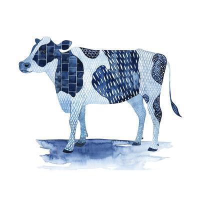 Cobalt Farm Animals I