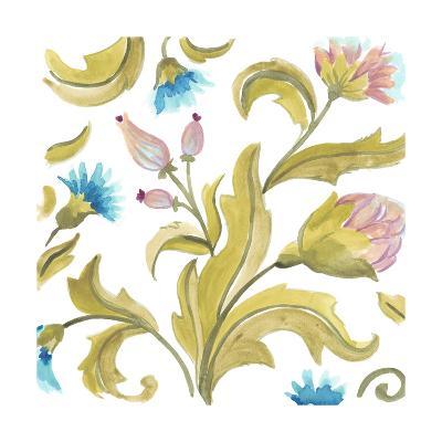 Abbey Floral Tiles IX