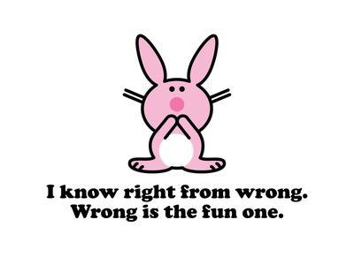Wrong is Fun.