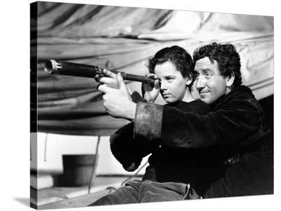 """Spencer Tracy; Freddie Bartholomew. """"Captains Courageous"""" [1937], Directed by Victor Fleming."""