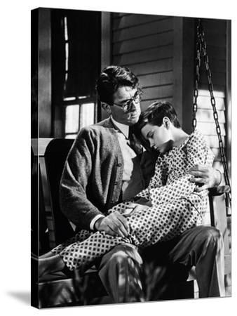 "Gregory Peck; Phillip Alford. ""To Kill a Mockingbird"" [1962], Directed by Robert Mulligan."