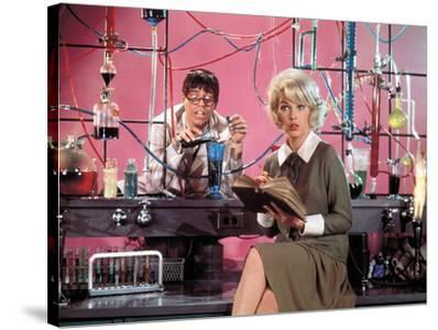 """Jerry Lewis; Stella Stevens. """"The Nutty Professor"""" [1963], Directed by Jerry Lewis."""