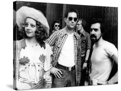 "Jodie Foster; Martin Scorsese; Robert De Niro. ""Taxi Driver"" [1976], Directed by Martin Scorsese."