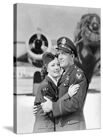 """Irene Dunne; Spencer Tracy. """"A Guy Named Joe"""" [1943], Directed by Victor Fleming."""