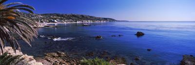 Rocks in the sea, Laguna Beach, Orange County, California, USA