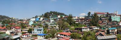 View of the Baguio City, Benguet, Luzon, Philippines