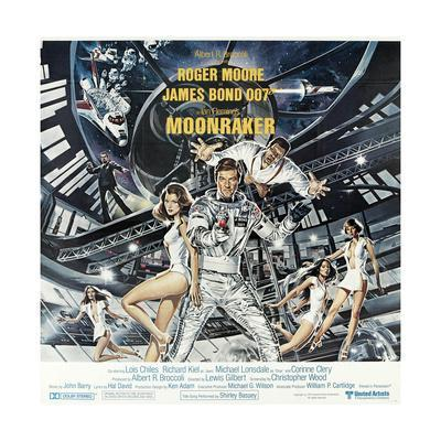 007, James Bond: Moonraker [1979] (Moonraker), Directed by Lewis Gilbert.