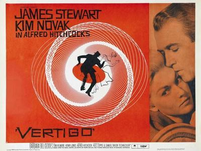 Vertigo [1958], Directed by Alfred Hitchcock.
