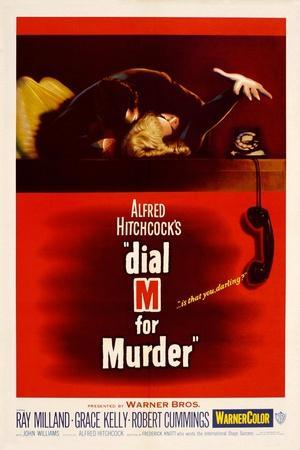 Dial M for Murder [1954], Directed by Alfred Hitchcock.