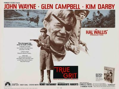 True Grit [1969], Directed by Henry Hathaway.