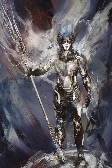 Avengers Infinity War Proxima Midnight Painted Print At