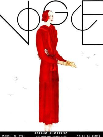 Vogue Cover - March 1931