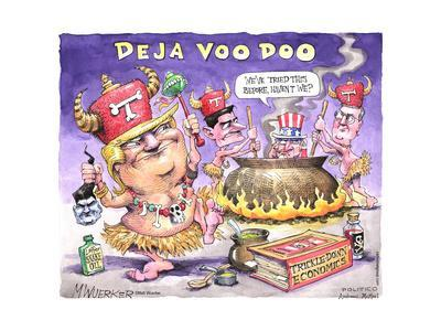 Deja Voo Doo. We've tried this before, haven't we? T. Laffer Snake Oil. Trickle-Down Economics.