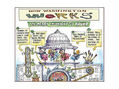How Washington Works.  The Merry Incumbent Go Round.