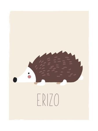 Forest Friends Hedgehog (Spanish)