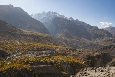 Dramatic Himalayas landscape in the Skardu valley, Gilgit-Baltistan, Pakistan, Asia