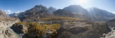 Dramatic Himalayan mountains in the Skardu valley, Gilgit-Baltistan, Pakistan, Asia