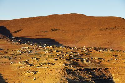 Highland village, Lesotho, Africa