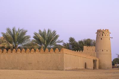 Al Jahili Fort, Al Ain, UNESCO World Heritage Site, Abu Dhabi, United Arab Emirates, Middle East