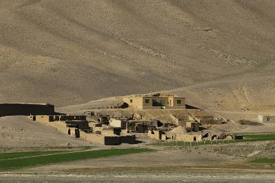 Mud village in Bamiyan Province, Afghanistan, Asia
