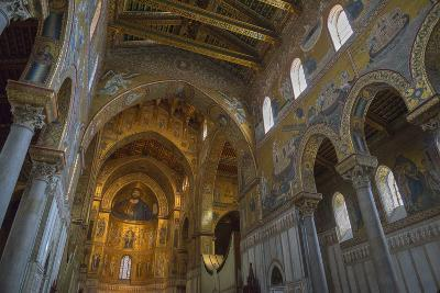 Cathedral of Monreale, Monreale, Palermo, Sicily, Italy, Europe