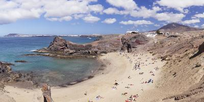 Playa Papagayo beach, near Playa Blanca, Lanzarote, Canary Islands, Spain, Atlantic, Europe