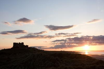 Bamburgh castle, Bamburgh, Northumberland, England, United Kingdom, Europe