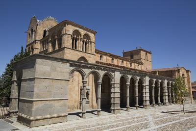 Basilica de San Vicente, Avila, UNESCO World Heritage Site, Castile and Leon, Spain, Europe