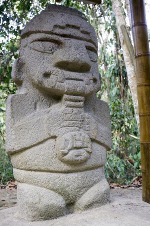 San Agustin Archaeological Park, UNESCO World Heritage Site, Colombia, South America