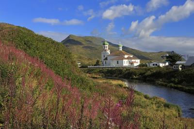 Russian Orthodox Church, Unalaska Island, Aleutian Islands, Alaska, USA, North America