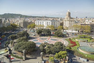 Placa de Catalunya, Barcelona, Catalonia, Spain, Europe