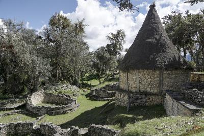 Kuelap, precolombian ruin of citadel city, Chachapoyas, Peru, South America