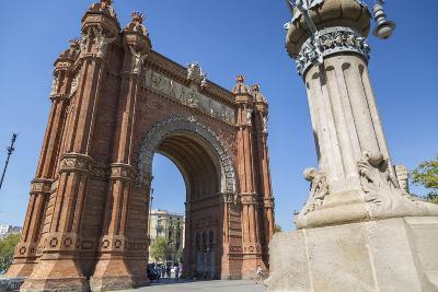 Arco de Triunfo de Barcelona, Barcelona, Catalonia, Spain, Europe