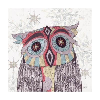Boho Owl and Feathers